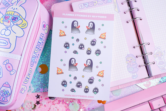 Studio Ghibli Planner Sticker Sheet