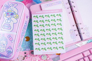 Turnips Reminder Planner Sticker Sheet