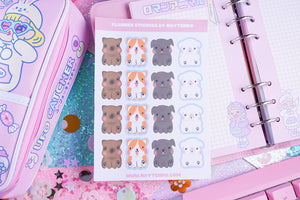 Dogs Planner Sticker Sheet