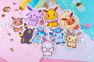 Eeeveelutions Holographic Sticker Pack |  Pokemon