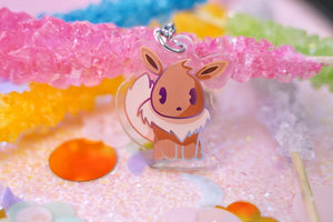 "Eevee 1.5"" DOUBLE SIDED Acrylic Charm 