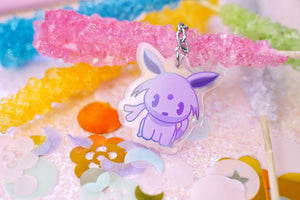 "Espeon 1.5"" DOUBLE SIDED Acrylic Charm 