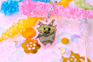 "Green Korok 1.5"" DOUBLE SIDED Acrylic Charm 