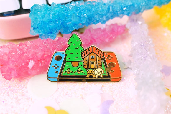 Stardew Valley in the Summer Enamel Pin