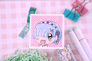 Re:Zero Rem Vinyl Sticker