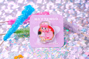 Pokemon: Nurse Joy and Chansey Acrylic Pin