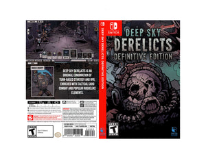 Deep Sky Derelicts - Custom Nintendo Switch Art Cover
