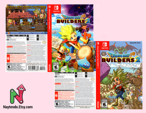 Dragon Quest Builders 2 - Custom Nintendo Switch Art Cover