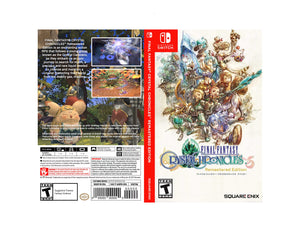 Final Fantasy Crystal Chronicles: Remastered Edition - Custom Nintendo Switch Art Cover