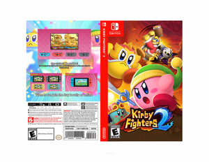 Kirby Fighters 2 - Custom Nintendo Switch Art Cover