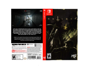 Outlast 2 - Custom Nintendo Switch Art Cover