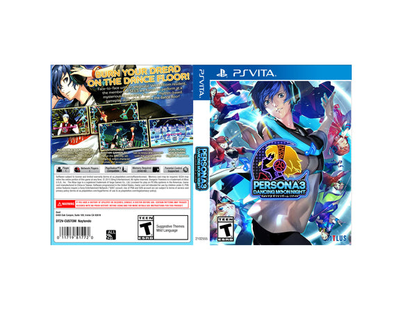 Persona 3: Dancing in Moonlight - Custom PS Vita Art Cover