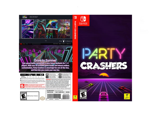 Party Crashers - Custom Nintendo Switch Art Cover