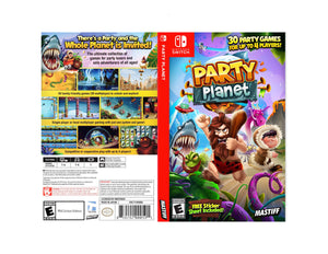 Party Planet - Custom Nintendo Switch Art Cover