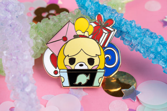 Isabelle Island Bound Hard Enamel Pin | Animal Crossing