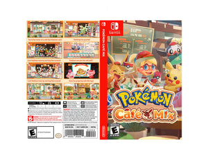 Pokemon Cafe Mix - Custom Nintendo Switch Art Cover