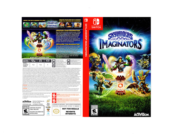 Skylanders Imaginators - Custom Nintendo Switch Art Cover