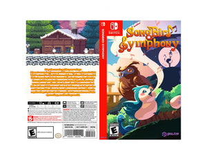 Songbird Symphony - Custom Nintendo Switch Art Cover