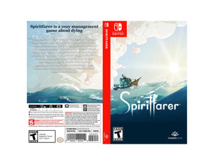 Spiritfarer - Custom Nintendo Switch Art Cover