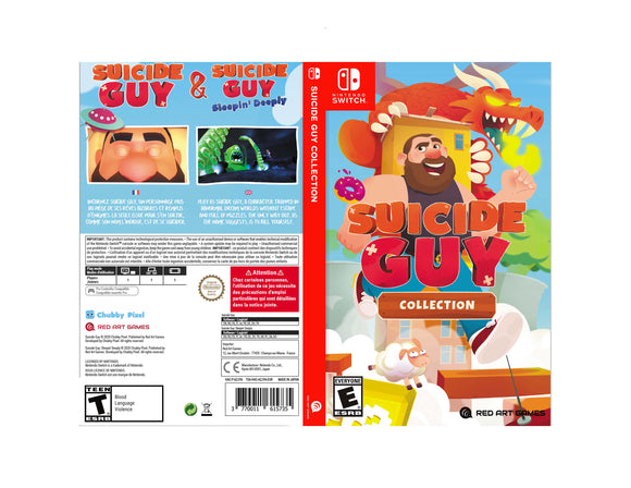 Suicide Guy Collection - Custom Nintendo Switch Art Cover