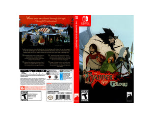 Custom Nintendo Switch Art Cover w/ Game Case - The Banner Saga