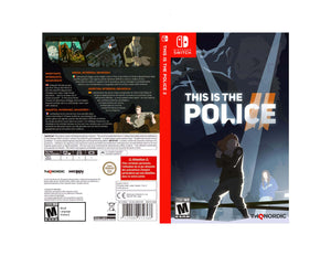 This is the Police 2 - Custom Nintendo Switch Art Cover
