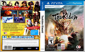 Toukiden - Custom PS Vita Cover