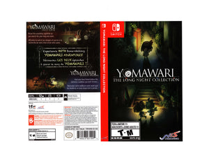 Yomawari: The Long Night - Custom Nintendo Switch Art Cover