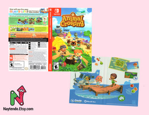 Animal Crossing: New Horizons - Custom Nintendo Switch Art Cover
