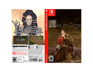 Ash of Gods: Redemption - Custom Nintendo Switch Art Cover