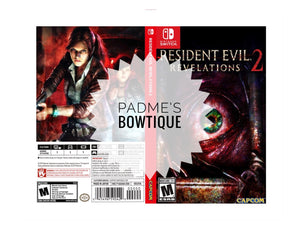 Custom Nintendo Switch Art Cover w/ Game Case - Resident Evil Revelations 2