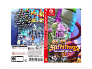 Custom Nintendo Switch Art Cover w/ Game Case - Shiftlings