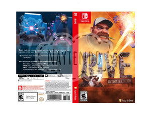 Custom Nintendo Switch Art Cover w/ Game Case - Rive