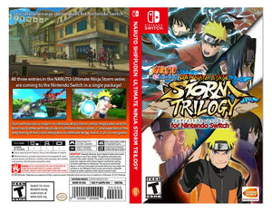 Custom Nintendo Switch Art Cover w/ Game Case - NARUTO SHIPPUDEN: Ultimate Ninja Storm Trilogy
