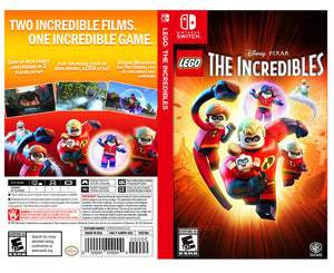 Custom Nintendo Switch Art Cover w/ Game Case - LEGO: The Incredibles