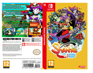 Custom Nintendo Switch Art Cover w/ Game Case - Shantae: Half-Genie Hero