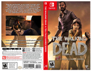 Custom Nintendo Switch Art Cover w/ Game Case - The Walking Dead: A Telltale Games Series (Season 1)