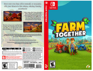 Farm Together - Custom Nintendo Switch Art Cover w/ Game Case