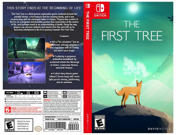 The First Tree - Custom Nintendo Switch Art Cover w/ Game Case