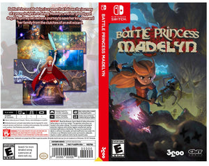 Custom Nintendo Switch Art Cover w/ Game Case - Battle Princess Madelyn
