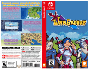 WarGroove - Custom Nintendo Switch Art Cover w/ Game Case
