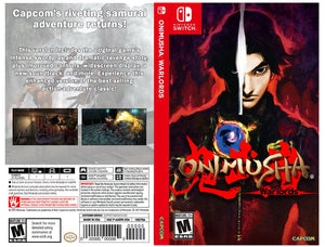 Onimusha: Warlord - Custom Nintendo Switch Art Cover w/ Game Case
