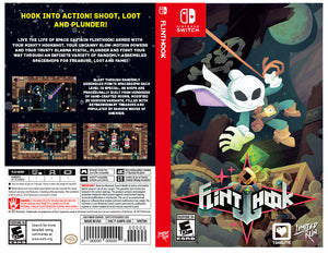 Flinthook - Custom Nintendo Switch Art Cover w/ Game Case