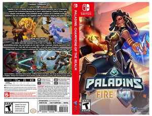 Paladins Fire and Ice Imani - Cover Custom Nintendo Switch Art Cover w/ Game Case
