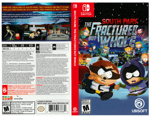 South Park The Fractured But Whole Custom Nintendo Switch Art Cover Naytendo