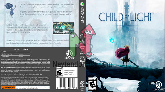 Child of Light - Custom Xbox One Art Cover