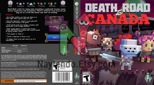 Death Road to Canada - Custom Xbox One Art Cover