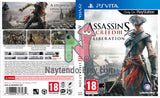 Assassin's Creed III: Liberation - Custom PS Vita Art Cover