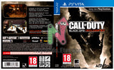Call of Duty Black Ops: Declassification  - Custom PS Vita Art Cover