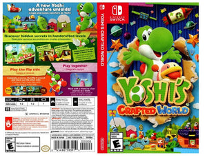 Yoshi's Crafted World - Custom Nintendo Switch Art Cover w/ Game Case